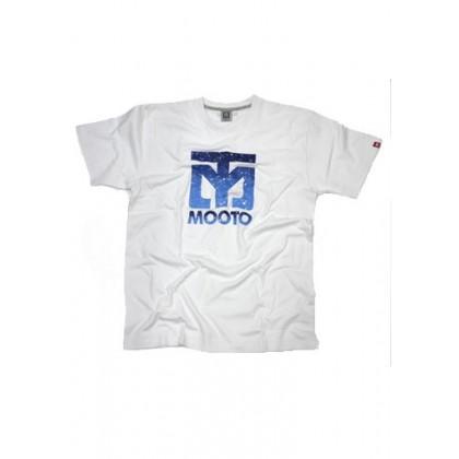 MOOTO T-SHIRT Gradation (Blanc)