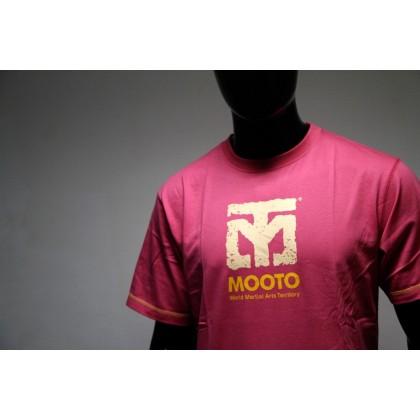MOOTO T-SHIRT Pink Emerald (rose)