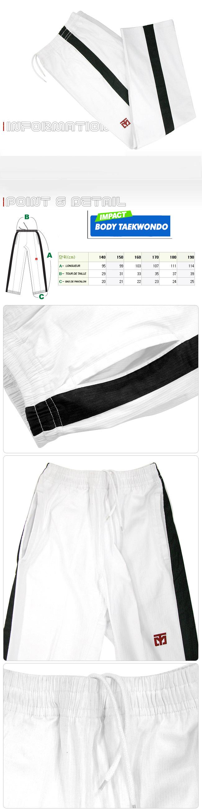 Pantalon Body Taekwondo